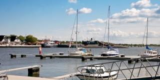 U-Boot im Hafen Peenemünde