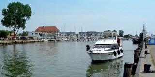 Yachthafen im Ostseebad Karlshagen